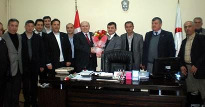Ak Parti'nin yeni yönetiminden Kalay'a 14 Mart ziyareti