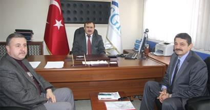 Akın, Sağlık Müdürlüğü, SGK ve Kuveyt Türk'ü ziyaret etti