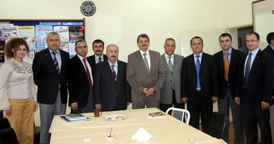 Akın'dan Lütfullah Kocabaşoğlu Mesleki Eğitim Merkezi'ne ziyaret