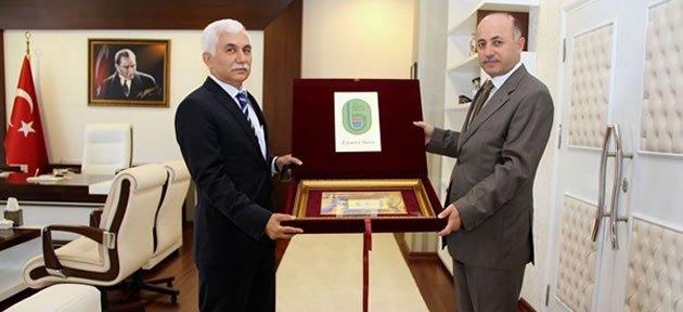 Alimoğlu'ndan Azizoğlu'na Ziyaret