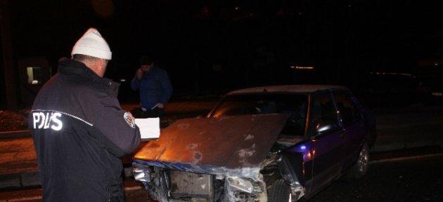 Alkollü Sürücü Kaza Yaptı: 1 Yaralı