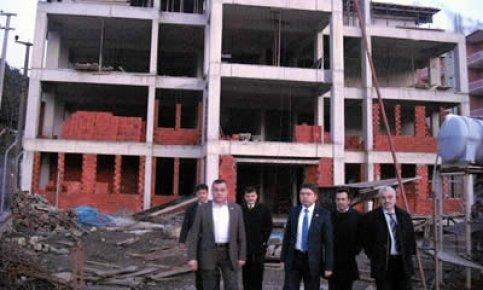 Amasra Adalet Sarayı bu yıl tamamlanacak