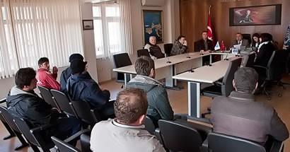 Amasra Belediyesi'nde kura heyecanı