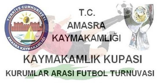 Amasra Kaymakamlık Kupası Kurumlar Arası Futbol Turnuvası 2012