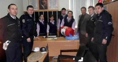 Amasra Lisesi'nden Altın Eller'e destek
