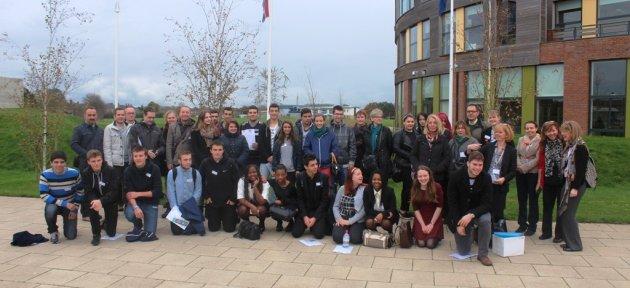 Amasra Mesleki Ve Teknik Lisesi İngiltere Hareketliliğini Tamamladı