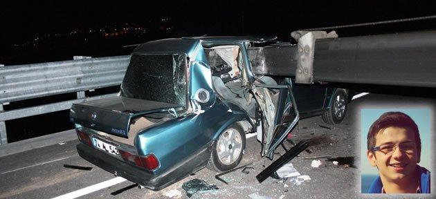 Amasra Tüneli Yolunda Feci Kaza: 1 Ölü 3 Yaralı