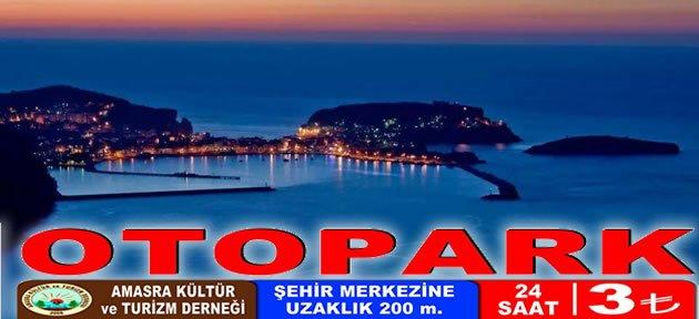 Amasra Turizmine Otopark Açılımı