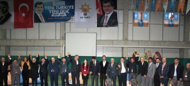 Amasra'da 5. Olağan İlçe Başkanlığı Kongresi Yapıldı