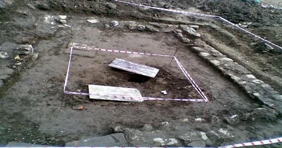 Amasra'da iki adet küp bulundu