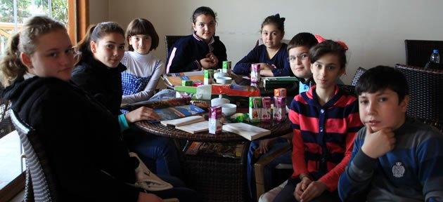 Amasra'da Kütüphane Haftası kutlamaları