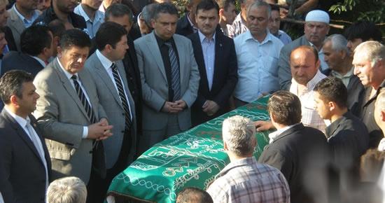 Amasra'da Maden Kazasında Ölen İşçi Defnedildi 
