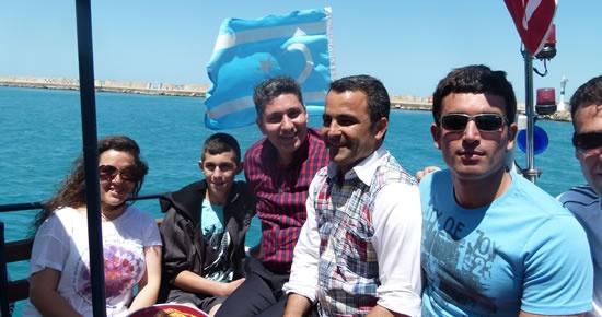 Amasra'da Türkmen bayrağı