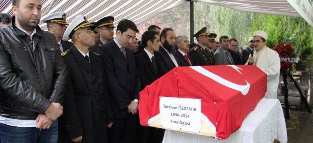 Amasra'nın Son Kore Gazisi Son Yolculuğuna Uğurlandı