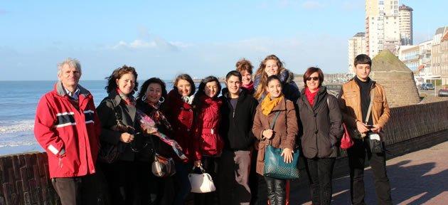 Amasra'yı Hollanda'da Temsil Ettiler