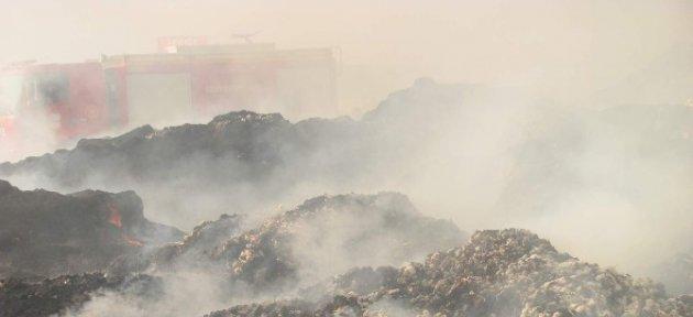 Araban İlçesinde Çırçır Ve Presse Fabrikasında Yangın