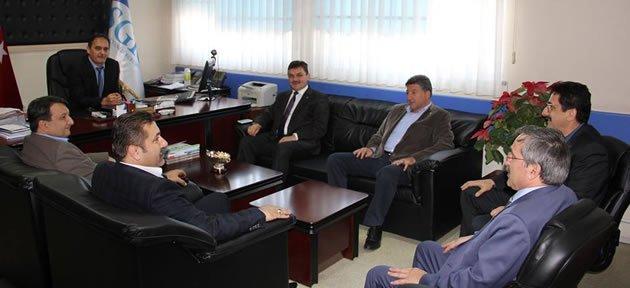 Arslan'dan SGK İl Müdürüne Ziyaret