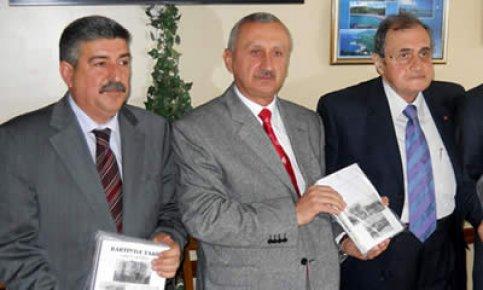 """Aşcıoğlu """"Bartın'da Tarih"""" Kitabını Tanıttı"""