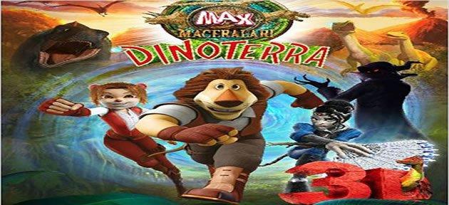 Aslan Max Dinoterra Gösterime Giriyor