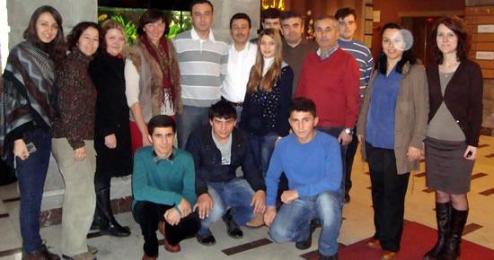Avrupa Birliği Projelerine iştirak ediyorlar