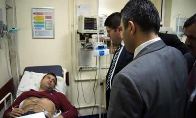 Ayhan Acar kalp rahatsızlığı nedeniyle hastaneye kaldırıldı
