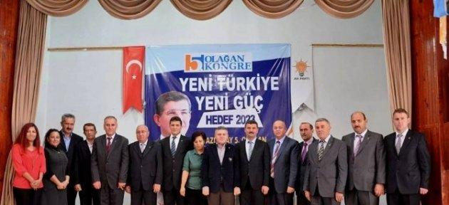Azdavay Ak Parti Genel Kurulu Yapıldı