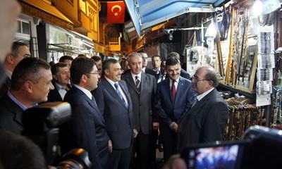 Bakan Eroğlu Amasra'da