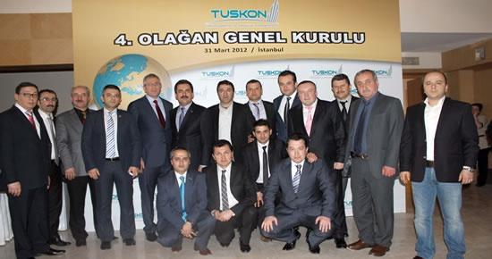 Bakiad TUSKON 4.Olağan Genel Kurulu'na katıldı