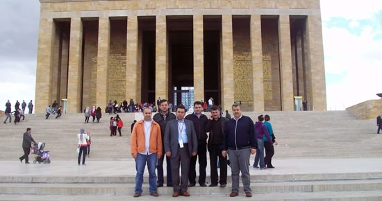 Bakiad üyeleri Ankara'ya gezi düzenledi
