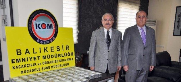 Balıkesir'de Tarihin En Büyük Uyuşturucu Operasyonu