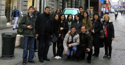 Bartın Anadolu Öğretmen Lisesi İtalya'da