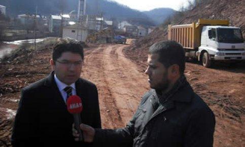 Bartın-Arıt-Aydınlar yolu 2013  yılında açılacak