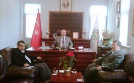 Bartın BEDAŞ İşletme Müdürü'nden Karaman'a Ziyaret