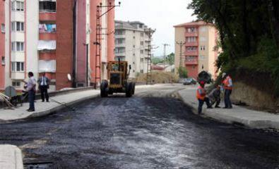 Bartın Belediyesi asfalt sezonunu açtı