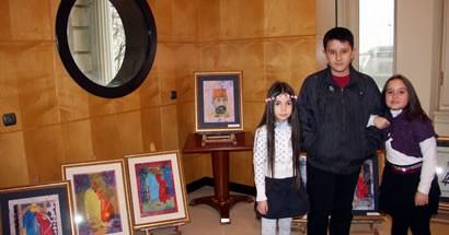 Bartın Belediyesi Ebru Atölyesi Pera Müzesi'nde