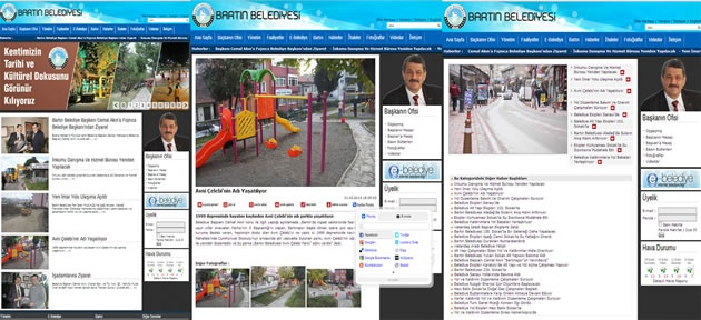 Bartın Belediyesi İnternet Sitesi yenilendi