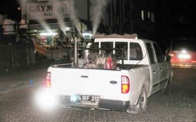 Bartın Belediyesi sinek ve haşerelere savaş açtı