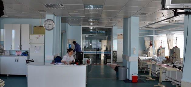 Bartın Devlet Hastanesi Diyaliz Ünitesine 97 Puan