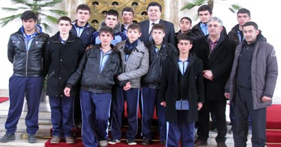 Bartın EML öğrencileri Meclis'te