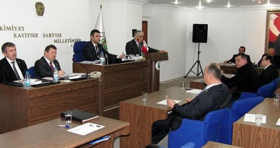 Bartın İl Genel Meclisi toplantıları devam ediyor