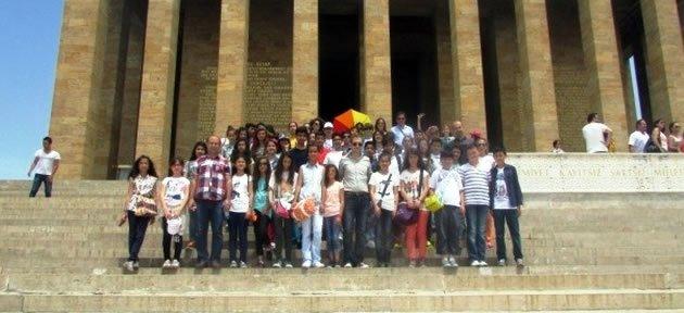 Bartın İmkb Ortaokulu Ankara'da