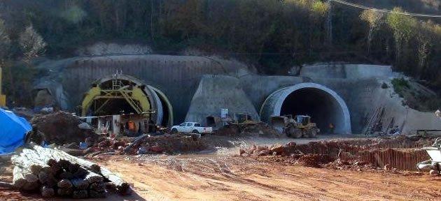 Bartın Kurucaşile arasındaki 2 Tünel Tamamlandı