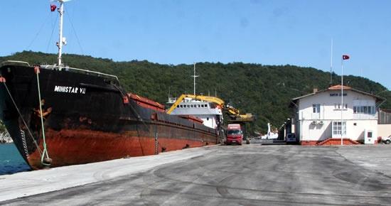 Bartın Limanı asfaltlandı