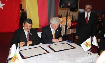Bartın-Lünen Kardeşlik Protokolü İmzalandı
