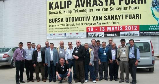Bartın MESO, Bursa'ya fuar gezisi düzenledi