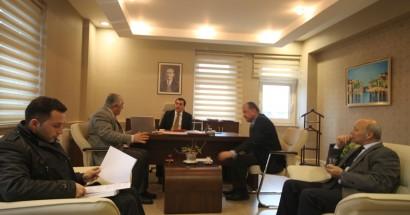 Bartın OSB denetim komisyonu toplandı