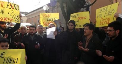 Bartın, Suriye için meydanlara indi