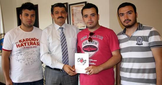 Bartın Toplum Gönüllüleri Vakfı'ndan başkan Akın'a teşekkür