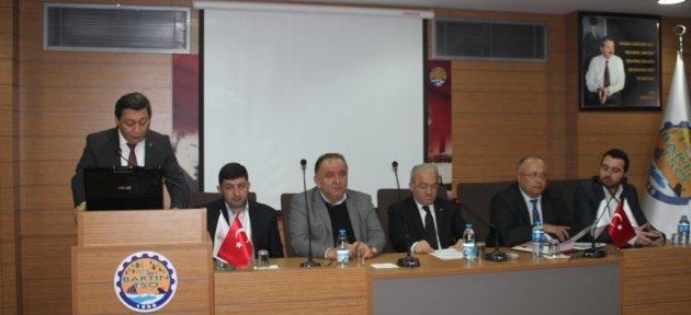 Bartın TSO Ekim Ayı Meclis Toplantısı