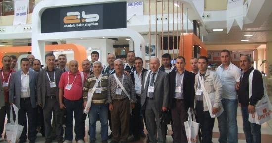 Bartın TSO ISK-SODEX 2012 fuarına katıldı